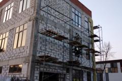 г. Пенза ул. Захарова 20 Г утепление фасада здания
