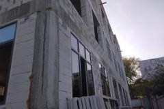 г. Пенза ул. Захарова 20Г утепление фасада здания