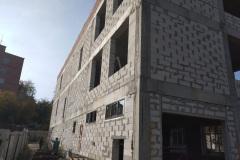 г. Пенза ул. Захарова 20Г утепление фасада торгового здания в Пензе
