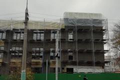 г. Пенза ул. Захарова 20Г утепление фасада торгового здания минеральной ватой в Пензе и лбласти