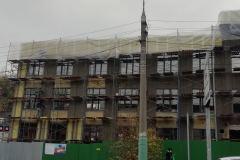 г. Пенза ул. Захарова 20Г утепление фасада торгового здания минеральной ватой в Пензе
