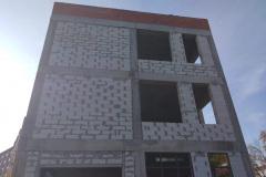 г. Пенза ул. Захарова 20Г утепление фасада торгового здания