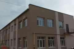 г. Пензе Заводской район мокрый фасад 58 в Пензе