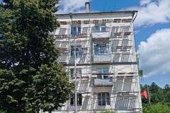 Утепление торцевых стен жилого дома в Заречном