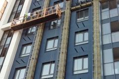 г. Пенза Фасад комбинированный вен фасад из фиброцементной плиты с элементами мокрого фасада
