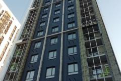 г. Пенза фасад из фиброцементной плиты с элементами мокрого фасада