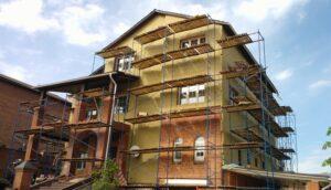 Утепление фасада частного дома в Пензе