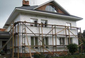 Утепление фасада дома в Пензе