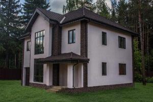 Штукатурка фасада дома в Пензе