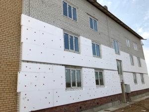 Утепление дома пенопластом в Пензе